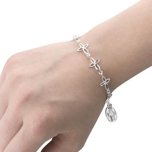 Stainless Cross Bracelet Birthday Gifts