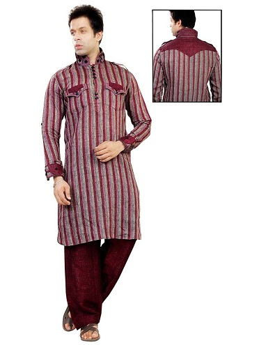 Striped Kurta Pajama
