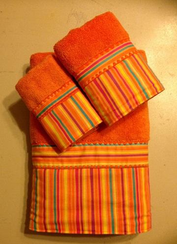Striped Towel sets