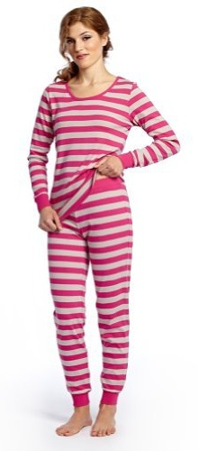 Striped Two-Piece Women's Pajama Set