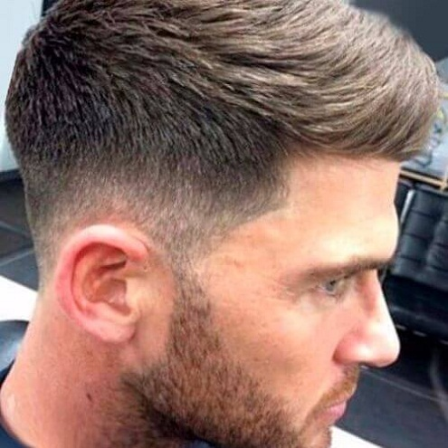 Stunning Mid Fade Haircut
