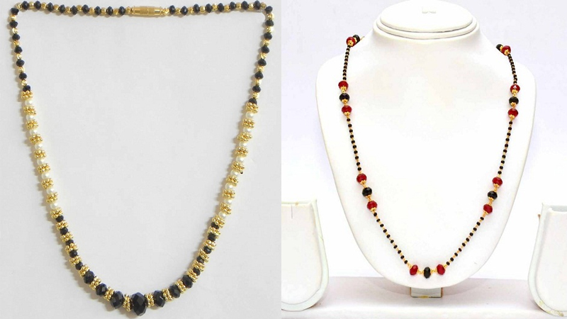 Stylish Mangalsutra Chains Without Pendant