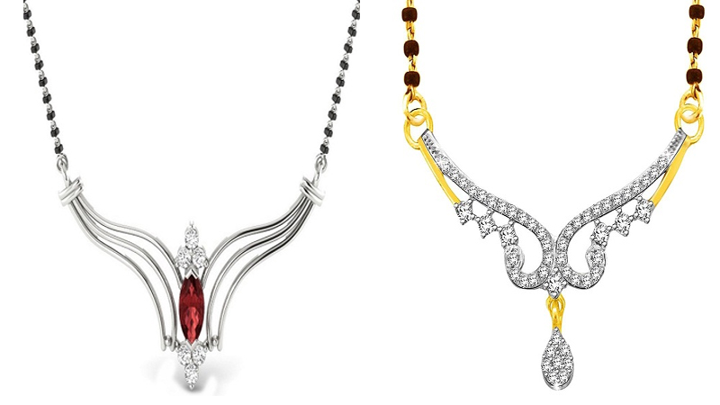 Stylish Silver Mangalsutra Designs with Images