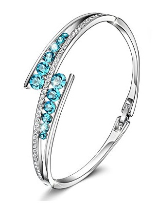 Swarovski Crystals Bangle Bracelets