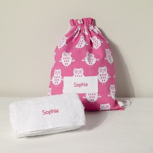 Swimming personalised Towels For Kids