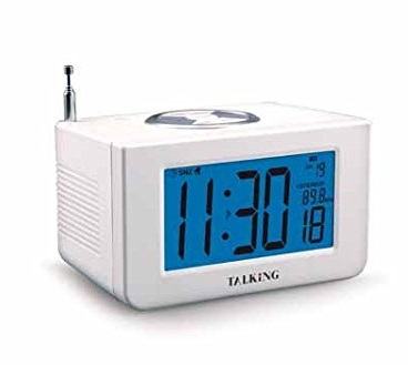 Talking LED Atomic Clock