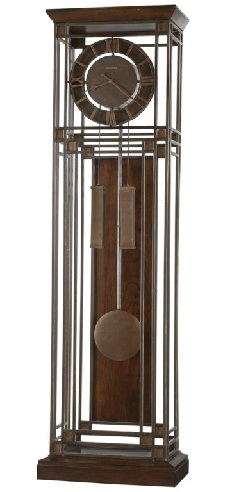 Tamarack Glass Grandfather Clocks