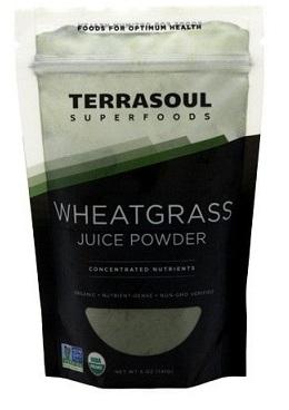 Terrasoul Super Foods Wheatgrass Juice Powder