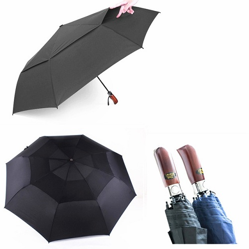 Three Folding Windproof Umbrellas