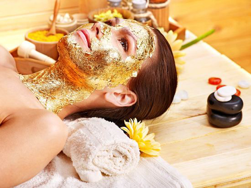 gold facials for oily skin