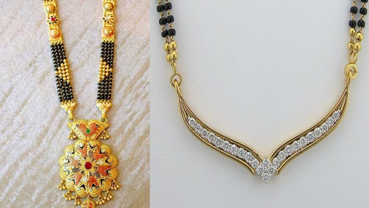 9 Traditional Indian Mangalsutra Designs With Pictures