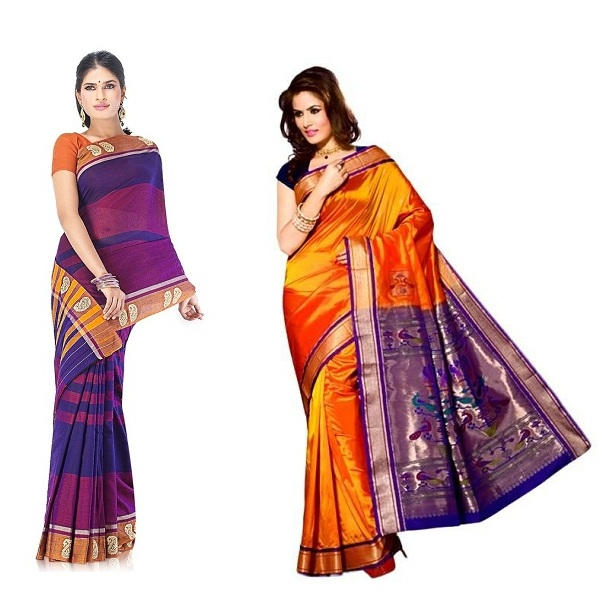 Traditional Karnataka Sarees With Images