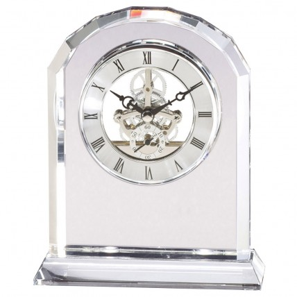 Transparent Crystal Desk Clocks