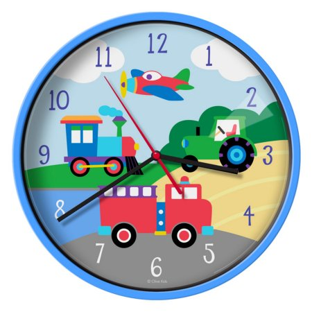 Transport Kid's Clock