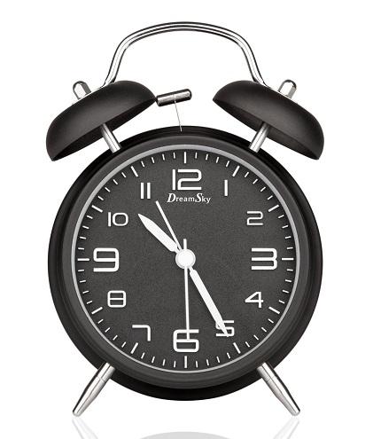 Twin Bell Loud Alarm Clock