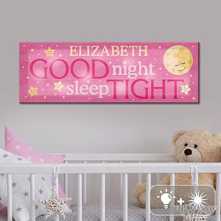 Twinkle Bright LED Sleep Well Canvas