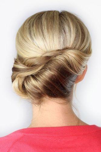 Elegant Twisted Hairstyle