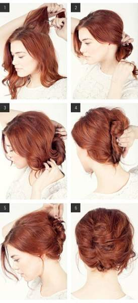 Simple Twist Hairstyle