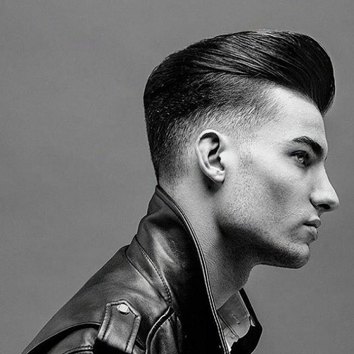 Undercut with Slicked Back Hair