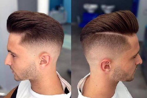 Undercut with a Side Part