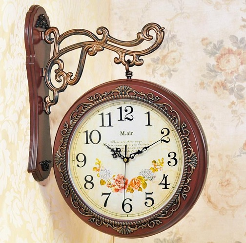 Vector Vintage Wall Clock