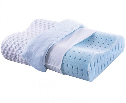 Ventilated Memory Foam Contour Pillow