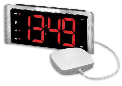 Vibrating Pad Loud Alarm Clock