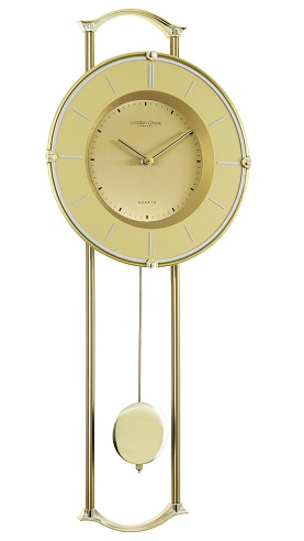 Vintage Wall Clock with Pendulum