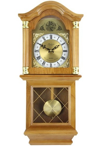 Wall Mounted Pendulum Clock