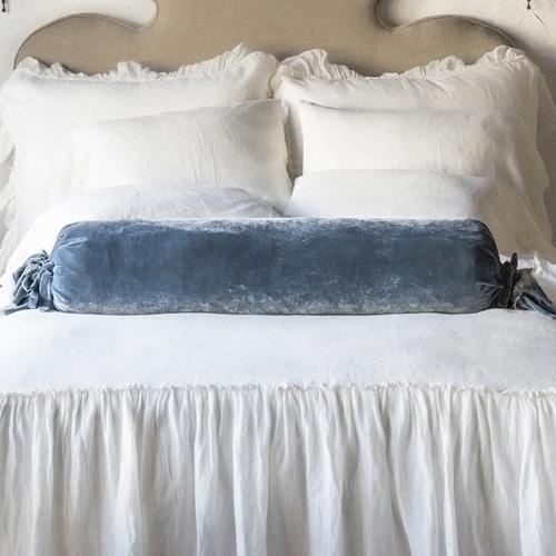 Washable Velvet Bolster Pillows