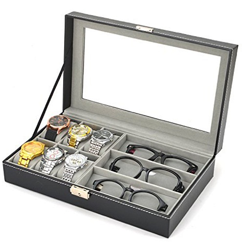 Watches and Sunglasses Case