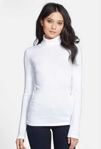 Women's Full Sleeved Turtle Neck Sweaters