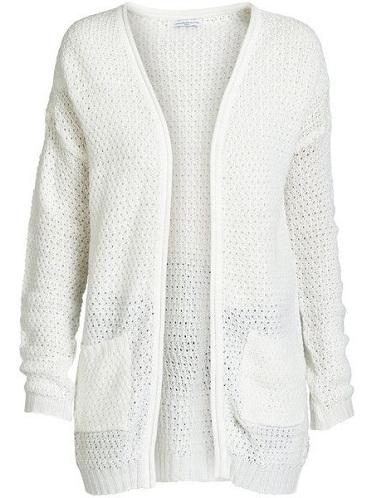 Women's Long White Cardigan Sweaters