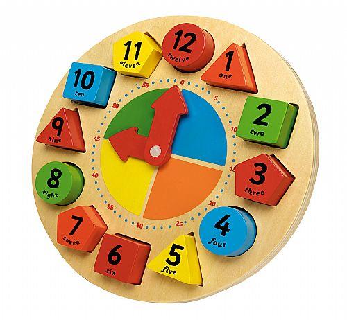 Wooden Kid's Clock
