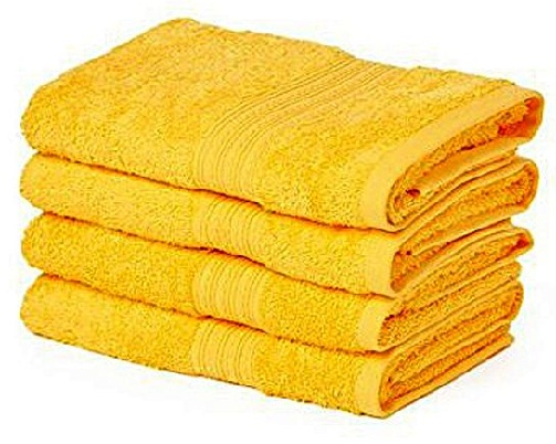Yellow color Towel