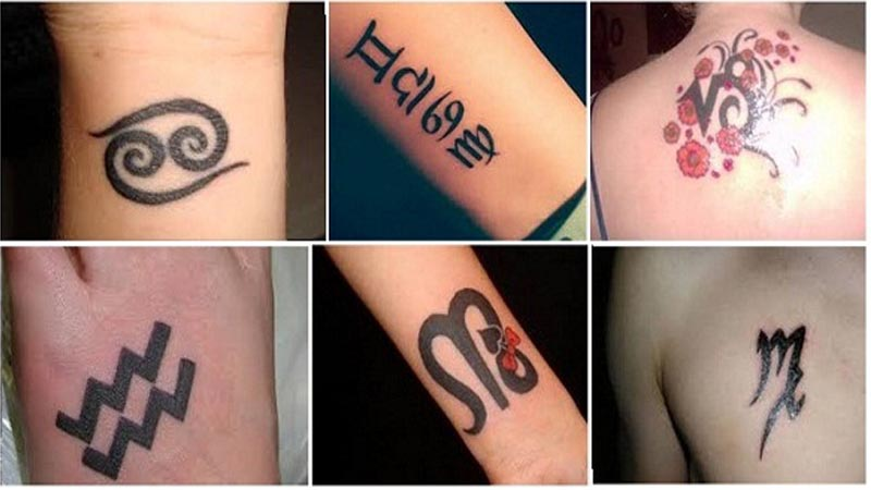 15 Best Zodiac Sign Tattoo Designs and Meanings