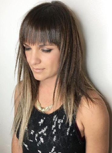Asymmetric Haircut with Jagged Layers