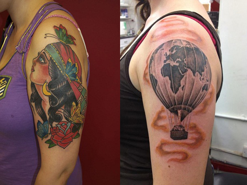 bicep tattoo designs