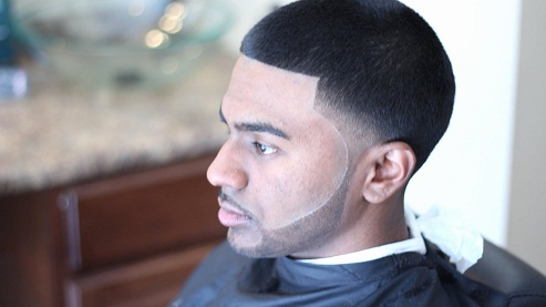 Blow-out Fade