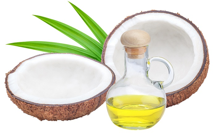 coconut oil to control dandruff