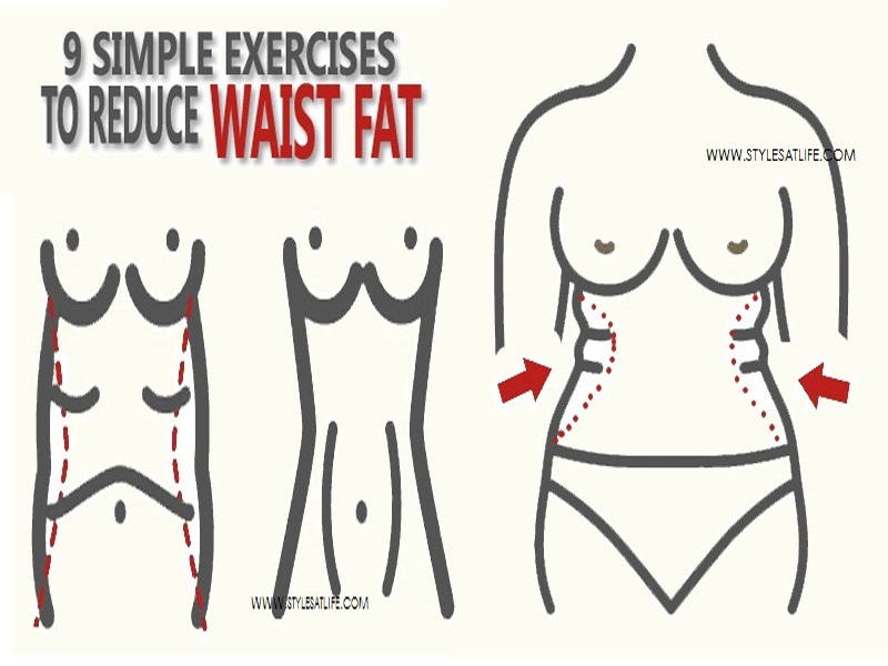 exercises to reduce waist