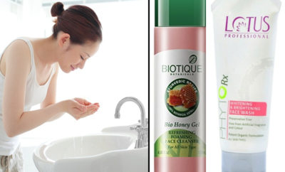 face washes for glowing skin