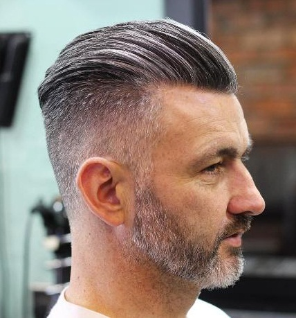 Salt & Pepper Slick Back