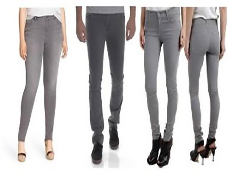 grey jeans