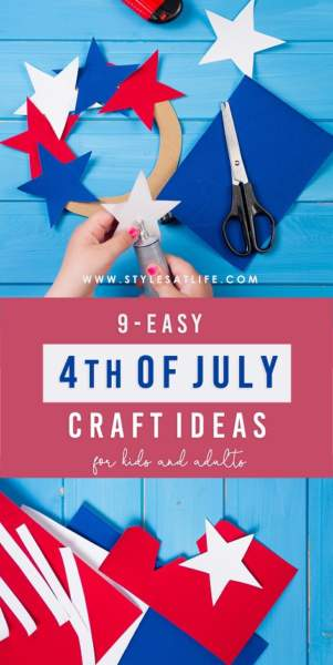 4th of July Crafts Ideas For Kids And Adults