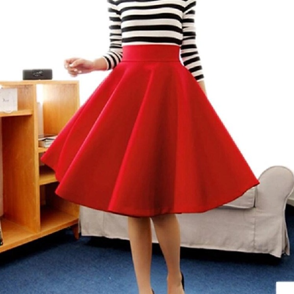 Attractive Designs of Red Skirts for Womens
