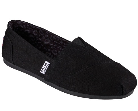 BOBS from Skechers Men's Plush Peace and Love Flat