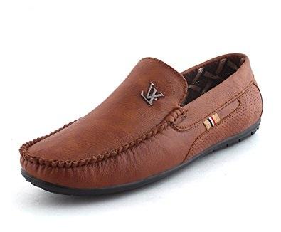 Baroo Men Tan Loafers