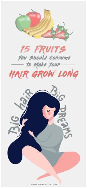 hair growth fruits