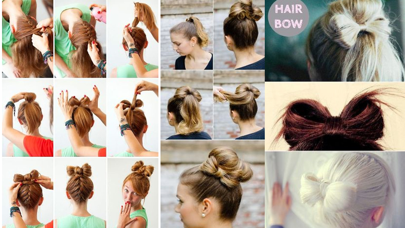 Best Hairstyles for Long Hair with Bow in 2018